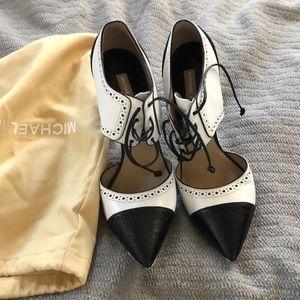 Michael Kors high heel pointed toe shoes